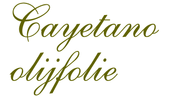 cayetaone olijfolie